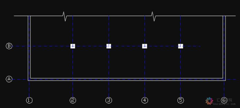 建筑施工图的符号规定之定位轴线