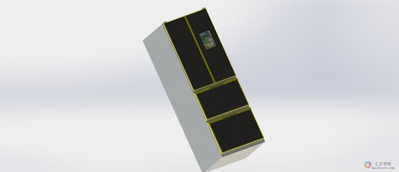 网络连接线口组成,用户可以通过冰箱门板上的电子